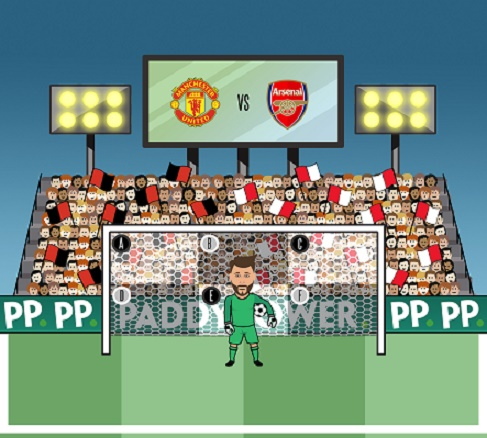 Man U vs Arsenal Paddy